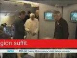 Pape Benoit XVI est contre le preservatif et l'Abbé Pierre ?