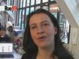Cécile Duflot après son tchat sur Rue89