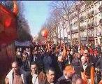 Le cortège CFDT au coeur de la manifestation du 19 mars 2009