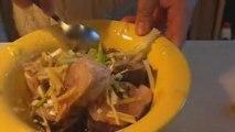 Cabillaud gingembre, ciboule à la vapeur