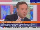 Jean-Michel FOURGOUS : patrons et stocks-options