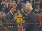 Raw 03 23 09 Chris Jericho and Ric Flair segment 1/2