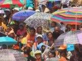 24 mars 2009 : opposants à Andry Rajoelina