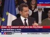 Nicolas Sarkozy à Saint-Quentin