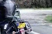 Sortie moto manif au mans mars 2009