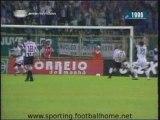 Espinho - 1 Sporting - 3 de 1996/1997