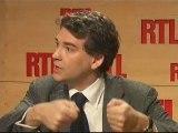 Arnaud Montebourg invité de RTL (25/03/09)