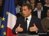 Discours Nicolas Sarkozy  Saint-Quentin 24-3-2009