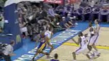 NBA Thabo Sefolosha Super Block to Kobe in the paint.