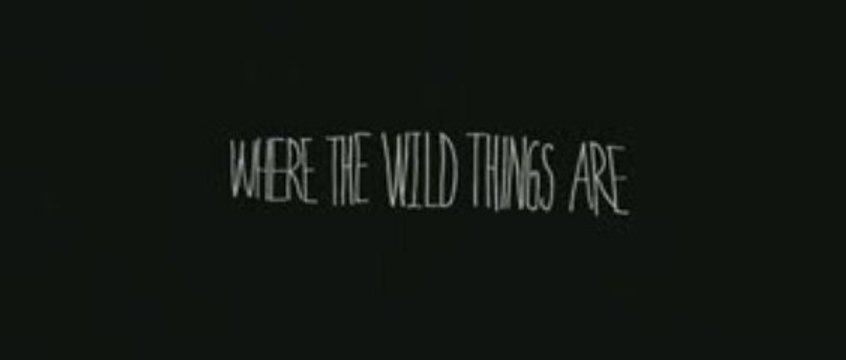 Trailer de Where the wild things are