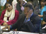 Jesse Jackson talks to MPs about race issues