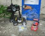 kyosho mini z Monster truck optionné wheeling franchissement