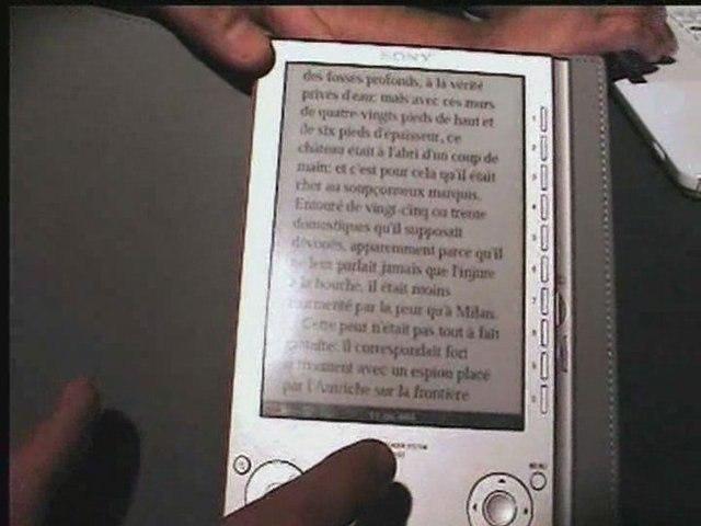 Sony Reader, démonstration