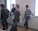 Danse irlandaise (début)