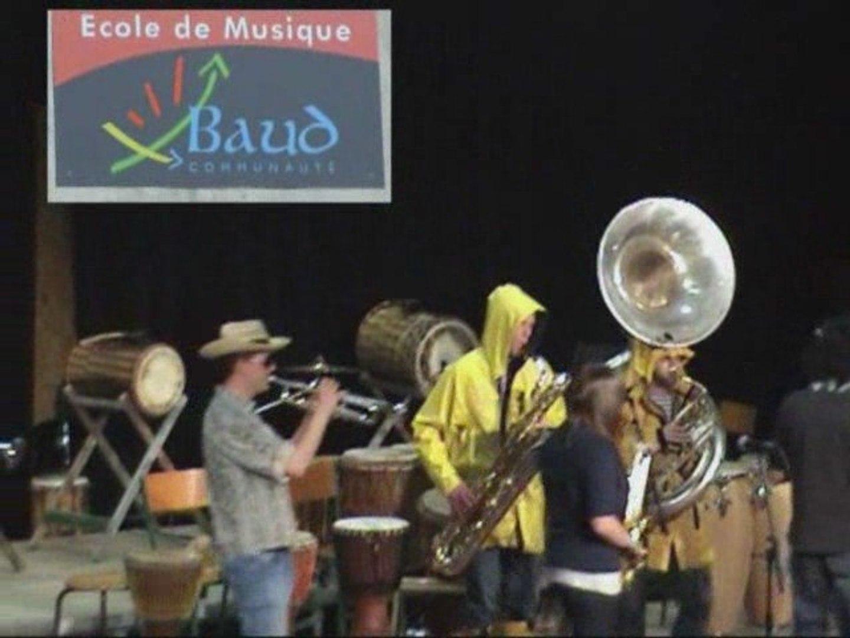 Soirée cabaret à Baud en 2009