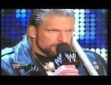 WWE Raw 3/2/09 - Triple h and Randy Orton 1/2