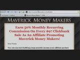 Become a Maverick Money Maker Super Affiliate