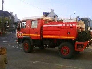 sapeurs-pompiers de Concarneau