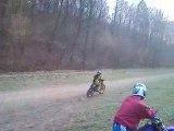 moto cross 4 temps 2 temps