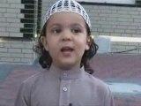 machallah l'enfant de 7ans récite des verse du coran