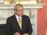 Australian Prime Minister praises Gordon Brown