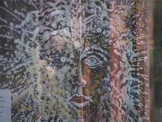 Exposition : les Archéos (stèles) d'Alain AZAD