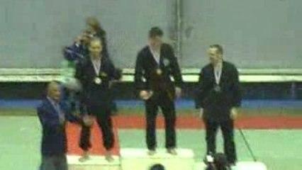 Championnat de France 2009 (remise de medailles)