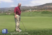 Golf Instruction on chipping against the fringe