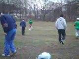 soccer avec amis dans berlin Onomo, Aminou, Mbele, Eyinga
