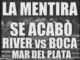 RIVER CORRE A BOCA MAR DEL PLATA LOS BORRACHOS 14 DEL TABLON