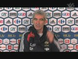Football365 : Raymond Domenech avant France-Lituanie