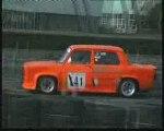 Slalom auto de la Ferté Bernard 2009 -les essais...