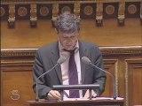 David Assouline intervient au Sénat sur loi LRU part 1