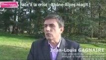 La crise économique en Rhône-Alpes - Jean-Louis GAGNAIRE