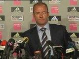 Alan Shearer unveiled as Newcastle manager