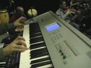 Préparation pour le concert Urban Raï 2009 - Mohamed Lamine