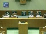 Arantza Quiroga, nueva presidenta del Parlamento vasco