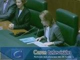 Arantza Quiroga es elegida presidenta del Parlamento vasco