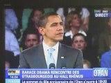 Obama s'adresse aux jeunes européens