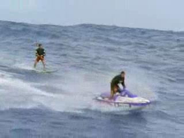 Surf impressionnant