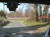 Rallye de la fougère 2009 ES-2 Marcillan, punto kit-car