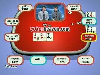 Poker Heaven Online Series of Poker - Final part 2