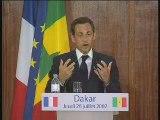 Discours de Dakar de Nicolas Sarkozy, 26 juillet 2007