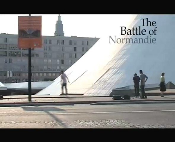 BATTLE OF NORMANDY 2006-RARE SKATEBOARDS