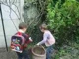 La chasse aux oeufs de Pâques 1
