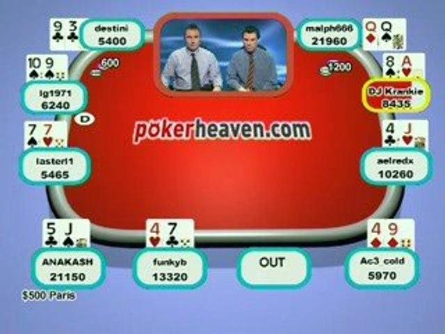 Poker Heaven Online Series of Poker - Final part 5