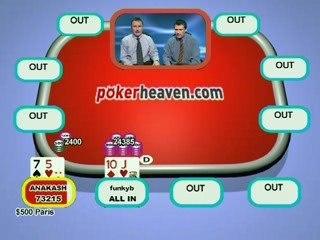Poker Heaven Online Series of Poker - Final part 6