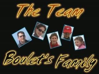 peche au bar :The team boulet's  family