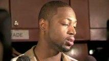 NBA Postgame Dwyane Wade April 07, 2009