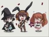 Choré des personnages mangas ^^